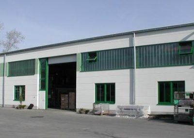Výrobní hala Kladno